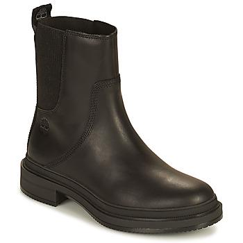 Schoenen Dames Laarzen Timberland LISBON LANE CHELSEA Zwart
