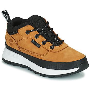 Schoenen Kinderen Hoge sneakers Timberland FIELD TREKKER LOW Graan