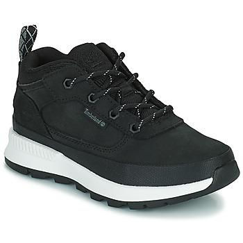 Schoenen Kinderen Hoge sneakers Timberland FIELD TREKKER LOW Zwart