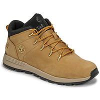 Schoenen Kinderen Lage sneakers Timberland SPRINT TREKKER MID Graan