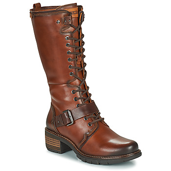 Schoenen Dames Hoge laarzen Pikolinos SAN SEBASTIA Brown