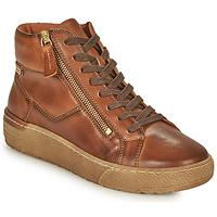 Schoenen Dames Hoge sneakers Pikolinos VITORIA Brown
