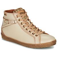 Schoenen Dames Hoge sneakers Pikolinos LAGOS Beige