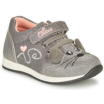 Schoenen Meisjes Lage sneakers Chicco FLEXY Zilver