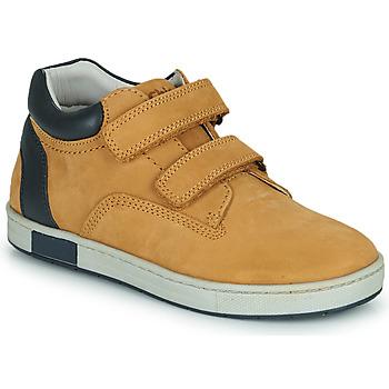 Schoenen Jongens Hoge sneakers Chicco CODY Brown / Marine