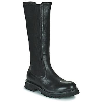 Schoenen Dames Hoge laarzen Moma DOORS Zwart