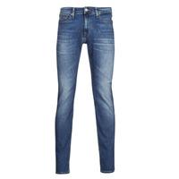 Textiel Heren Skinny jeans Tommy Jeans SCANTON SLIM AE136 MBS Blauw / Medium