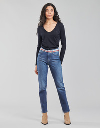 Textiel Dames Straight jeans Tommy Hilfiger NEW CLASSIC STRAIGHT HW A LEA Blauw / Medium