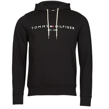Textiel Heren Sweaters / Sweatshirts Tommy Hilfiger TOMMY LOGO HOODY Zwart
