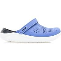 Schoenen Heren Leren slippers Crocs Literide Bleu