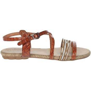 Schoenen Dames Sandalen / Open schoenen Porronet FI2616 Brown leather
