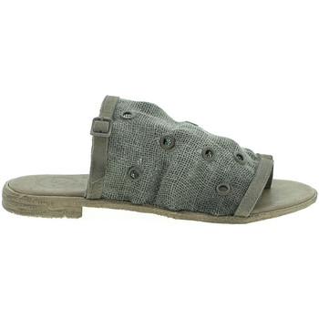 Schoenen Dames Leren slippers 18+ 6112 Beige