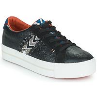 Schoenen Dames Lage sneakers Desigual STREEET ETHNIC Zwart