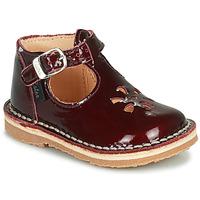 Schoenen Meisjes Sandalen / Open schoenen Aster BIMBO Bordeaux