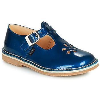Schoenen Meisjes Sandalen / Open schoenen Aster DINGO Blauw / Vernis