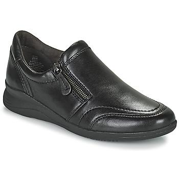 Schoenen Dames Lage sneakers Jana ZERRA Zwart