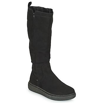 Schoenen Dames Hoge laarzen Jana KAMIRA Zwart