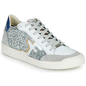 Schoenen Dames Lage sneakers Serafini SAN DIEGO Zilver / Wit