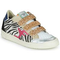 Schoenen Dames Lage sneakers Serafini SAN DIEGO Goud / Wit / Zwart