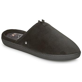 Schoenen Dames Sloffen Isotoner 97313 Zwart