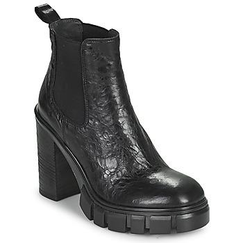Schoenen Dames Enkellaarzen Fru.it CAMILLA Zwart