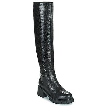 Schoenen Dames Hoge laarzen Fru.it FELINDA Zwart