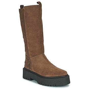 Schoenen Dames Hoge laarzen Musse & Cloud BARBIS Brown