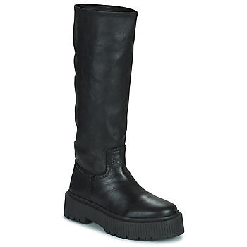 Schoenen Dames Hoge laarzen Musse & Cloud BRULI Zwart