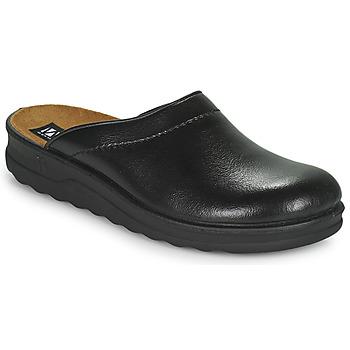 Schoenen Heren Leren slippers Romika Westland METZ 260 Zwart