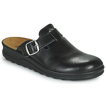 Schoenen Heren Leren slippers Romika Westland METZ 265 Zwart