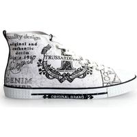 Schoenen Heren Hoge sneakers Trussardi  Wit