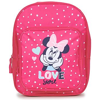 Tassen Meisjes Rugzakken Disney SAC A DOS MINNIE 23 CM Roze