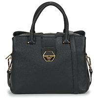 Tassen Dames Handtassen kort hengsel LANCASTER DELPHINO Zwart