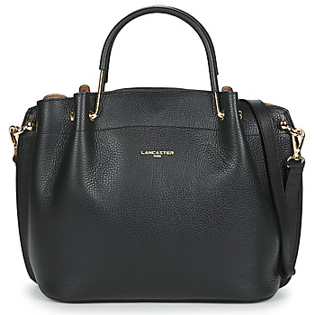 Tassen Dames Handtassen kort hengsel LANCASTER FOULONNE DOUBLE Zwart
