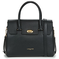 Tassen Dames Handtassen kort hengsel LANCASTER FOULONNE MILANO Zwart
