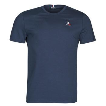 Textiel Heren T-shirts korte mouwen Le Coq Sportif ESS TEE SS N 3 M Marine