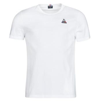 Textiel Heren T-shirts korte mouwen Le Coq Sportif ESS TEE SS N 3 M Wit