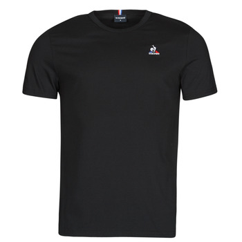 Textiel Heren T-shirts korte mouwen Le Coq Sportif ESS TEE SS N 3 M Zwart