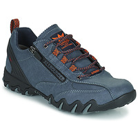 Schoenen Dames Lage sneakers Allrounder by Mephisto NAILA TEX Blauw