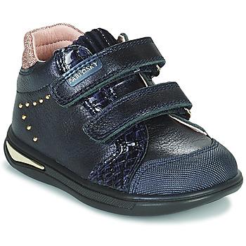 Schoenen Meisjes Hoge sneakers Pablosky 6122 Marine