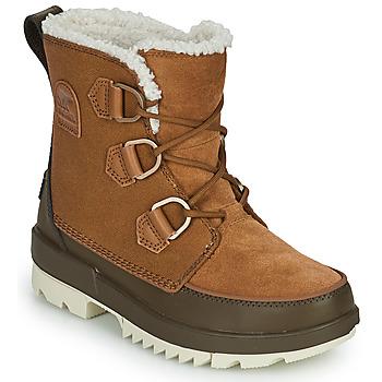 Schoenen Dames Laarzen Sorel TORINO II Brown