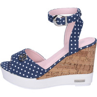 Schoenen Dames Sandalen / Open schoenen Lancetti Sandales BJ942 Bleu