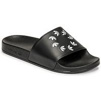 Schoenen Slippers adidas Originals ADILETTE Zwart