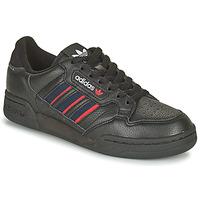 Schoenen Lage sneakers adidas Originals CONTINENTAL 80 STRI Zwart / Blauw / Rood
