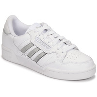 Schoenen Dames Lage sneakers adidas Originals CONTINENTAL 80 STRI Wit / Zilver