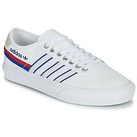 Schoenen Lage sneakers adidas Originals DELPALA Wit / Blauw
