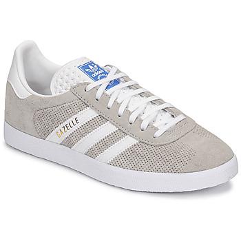 Schoenen Lage sneakers adidas Originals GAZELLE Grijs / Creme