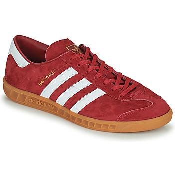 Schoenen Heren Lage sneakers adidas Originals HAMBURG Rood