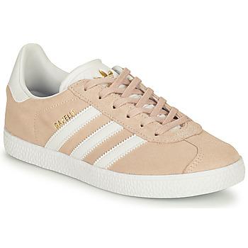 Schoenen Meisjes Lage sneakers adidas Originals GAZELLE J Roze