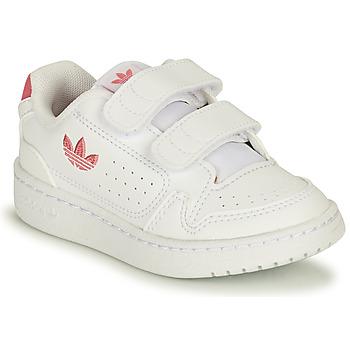 Schoenen Meisjes Lage sneakers adidas Originals NY 90 CF I Wit